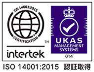 Tokyo office obtained ISO14001 as part of the environmental protection activities.